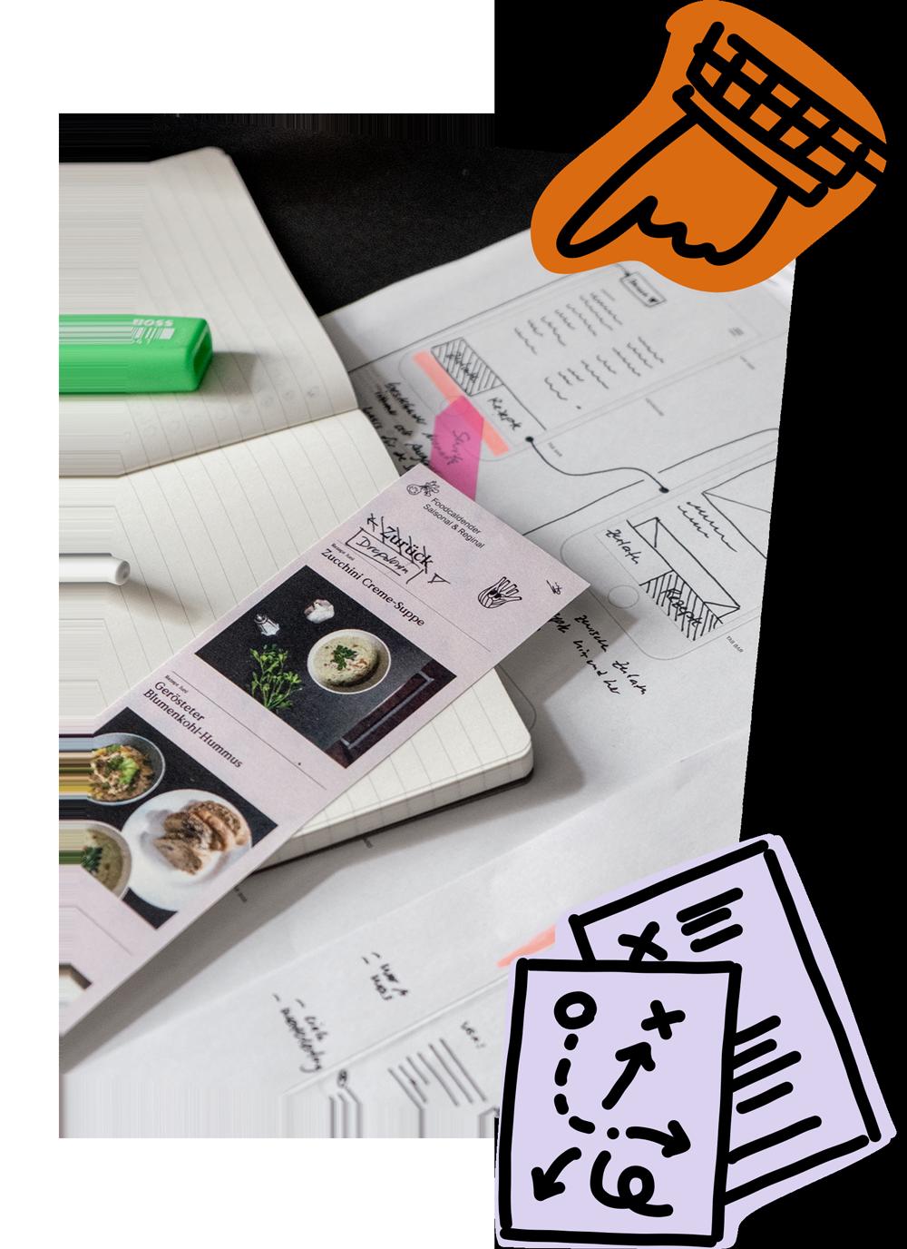 Arbeitsprozess, Entwicklung einer Website